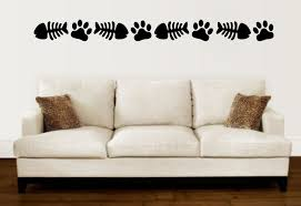 enchantingly elegant cat paw prints