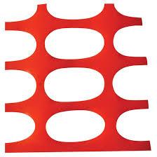 Safety Fence Plastic 4 X 50 Orange Sf6535 240 Rona