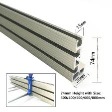 2020 30 80cm Aluminium Profile Fence 74mm Height Miter Track T Tracks And Sliding Brackets Miter Gauge Fence Connector For Woodwork From Miniputao 35 82 Dhgate Com