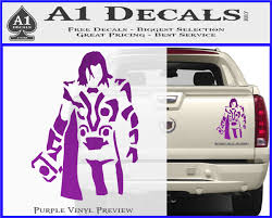 Thor Greek God Cloak Decal Sticker A1 Decals