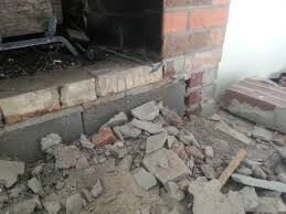 reface brick fireplace to stone