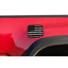 Car Gear Toyota Tacoma 2016 2017 Gas Cap Decal Fuel Door Graphic Truck Sticker Subdued Flag