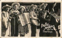 Polly Jenkins and Her Plowboys Performers & Groups Postcard