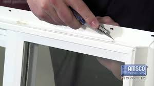 removing a nail fin from a vinyl window