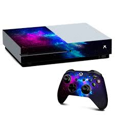Skins Decal Vinyl Wrap For Xbox One S Console Decal Stickers Skins Cover Galaxy Space Gasses Walmart Com Walmart Com