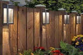 Best Solar Fence Lights 10 Solar Fence Lighting Ideas Led Light Guides