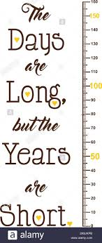 Kids Height Ruler With A Quote For Wall Decals Wall Stickers Vector Stock Vector Image Art Alamy