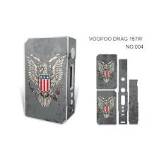 Voopoo Drag 157w Skin Wraps Sticker Cases Cover For Drag 157 W Tc Box Mod Vape Film Stickers With Fashion 14 Pattern Dhl Cheese Winding Machine Coil Jig Sizes From Alexstore 1 04 Dhgate Com