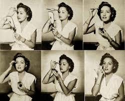 1940s beauty eye make up lesson 1941