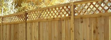 Lattice Top Privacy Fence Fence Deck Supply