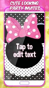 Minni Mouse Tarjetas De Invitacion For Android Apk Download