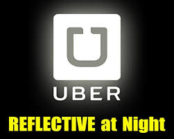 Handmade Products Decals Glow In The Dark Uber Sticker Decal Logo For The Rear Or Side Window Of Your Rideshare Car Van Suv Reflective