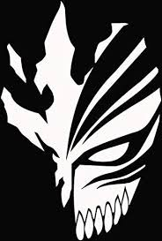 Amazon Com Bleach Ichigo Hollow Mask Anime Decal Sticker For Car Truck Laptop 4 5 X 3 0 Arts Crafts Sewing