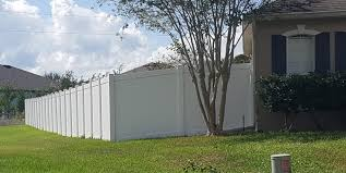 Pvc Fence Vinyl Fence Residential Commercial Leesburg Vicinity