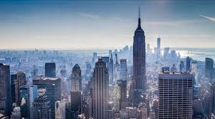 city buildings skyser view hd