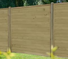 Forest Horizontal Tongue And Groove 6 X 6 Ft Fence Panel Gardensite Co Uk