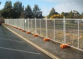 Interlocking Removable Steel Temporary Fencing Portable Fence Panels