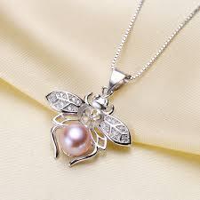 pearl crystal bead bail connectors