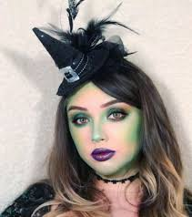 easy witch makeup for a little