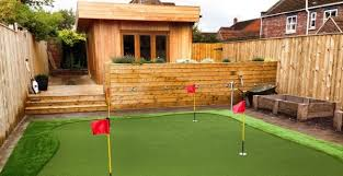 synthetic grass golf putting greens