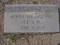 Myrtle Williams Strange Fort (1878-1960) - Find A Grave Memorial