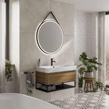 bathroom mirror drawer slides round
