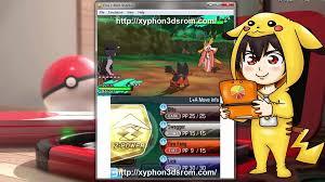 3DS ROM Download - Pokémon Moon Gameplay + Citra Emulator - video ...