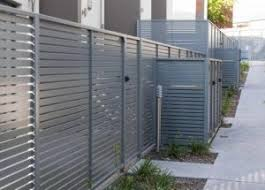 Aluminium Slat Fencing And Gates Argus Home Security Solutions