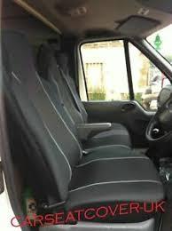 h duty grey trim van seat covers