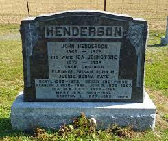 Faye Henderson (1920-1920) - Find A Grave Memorial