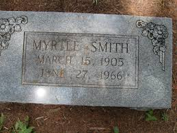 Myrtle Smith - Welcome To Suggs Cemetery Association