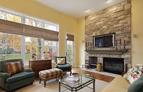 living room painting ideas fireplace