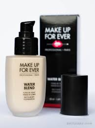 review make up for ever water blend