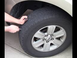 how to repair a nail hole in a tire