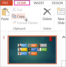 copy and paste your slides office support