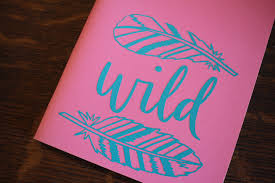 Wild Feather Bullet Journal Decal The Leather Quill Shoppe