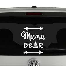 Mama Bear Arrows Vinyl Decal Sticker
