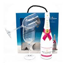 moët chandon ice rose twin acrylic