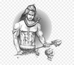 lord shiva sketch hd png