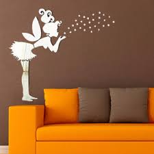 3d Mirror Wall Sticker Kids Bedroom Decoration Angel Magic Fairy Sta My Aashis