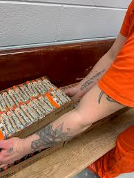gift bags to inmates