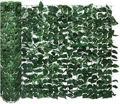 Amazon Com Ecoopts Artificial Buxus Leaf Faux Ivy Expandable Stretchable Privacy Fence Screen Mesh Back Buxus Leaves And Vine Decoration For Outdoor Garden Yard Laurel 39 X76 4 Pieces Garden Outdoor