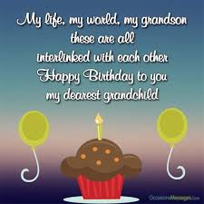 happy birthday wishes for grandson occasions messages