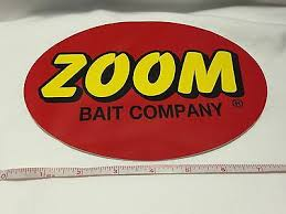 Zoom Baits Large Decal Official Window Decal Tackle Box Fishing Lure Baits Ebay