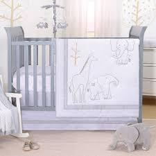 3 piece baby uni crib bedding