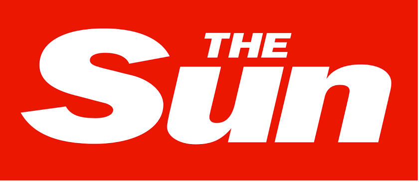Image result for the sun logo""