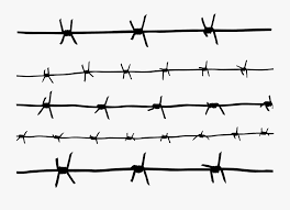 Barbwire Png Barbed Wire Drawing Easy Free Transparent Clipart Clipartkey