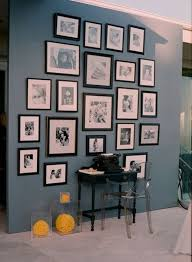 wall photo collage ideas without frames