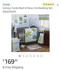 cocalo turtle reef baby infant bedding
