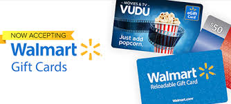 walmart gift cards now accepted on